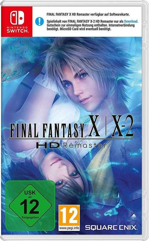 Final Fantasy X / X-2 HD Remaster (Nintendo Switch) für 21,39€ inkl. Versand (statt 28€)