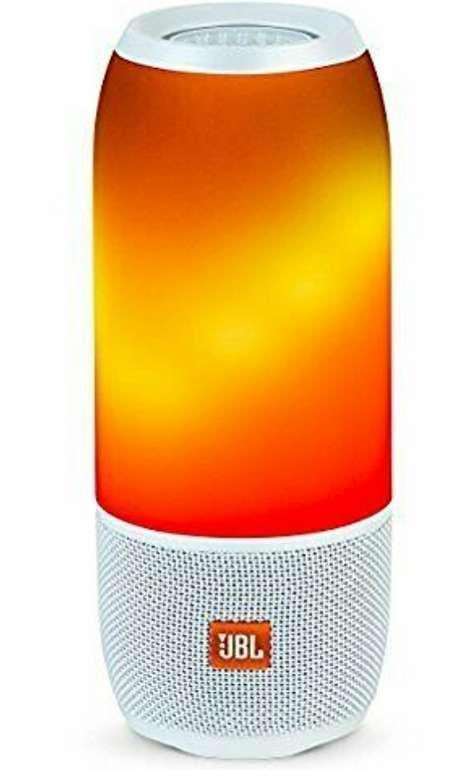 JBL Pulse 3 Bluetooth-Lautsprecher in weiß mit LED-Beleuchtung für 122€ (statt 146€)