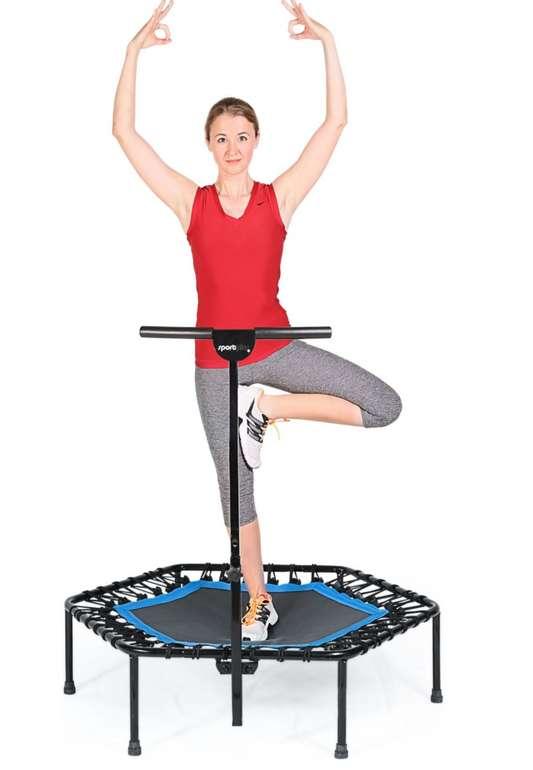 Sportplus Fitness Trampolin SP-T-110-B (Durchmesser: 110 cm) für 84,99€inkl. Versand (statt 100€)