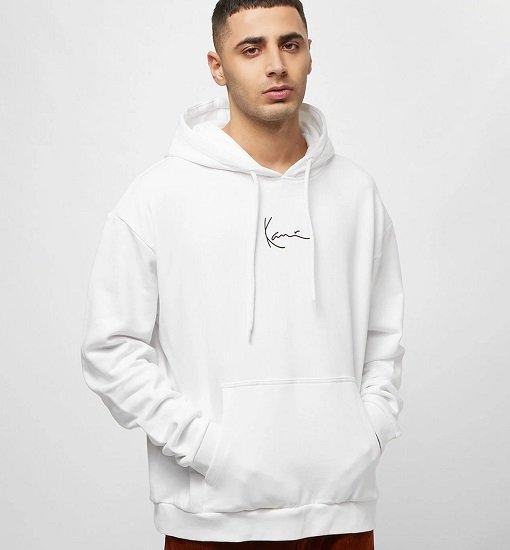 Karl Kani Signature Hoodie in Weiß oder Schwarz für 47,39€ (statt 57€)