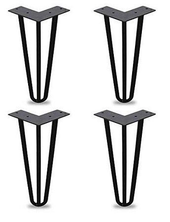 30% Rabatt auf WIS Hairpin Tischbeine, z.B. 4er Set 15cm Stangen für 18,19€