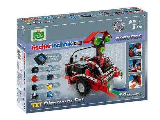 """Fischertechnik Roboter Bausatz """"TXT Discovery Set"""" für 169,99€ (statt 296€)"""