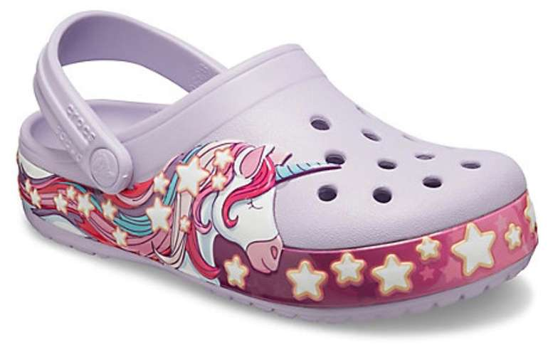 Crocs Black Friday Sale: Bis zu 50% Rabatt auf fast alle Clogs + VSKfrei - z.B. Kids' Crocs Fun Lab Unicorn für 24,49€