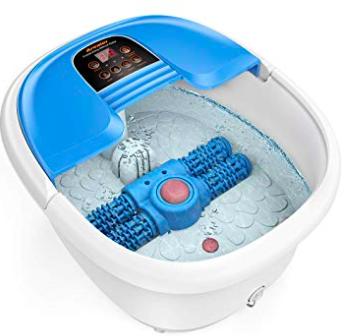 Arealer - elektrisches Fußbecken mit automatischem Massage-Rad für 49,99€