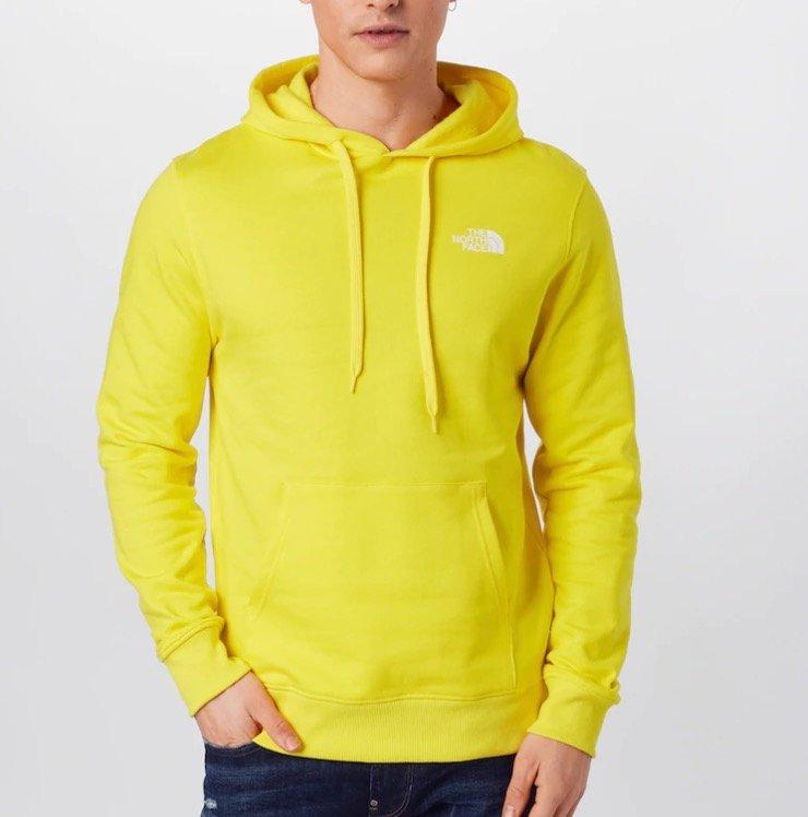 """The North Face Herren Sweatshirt """"Graphic"""" in gelb für 40,53€ inkl. Versand (statt 75€)"""