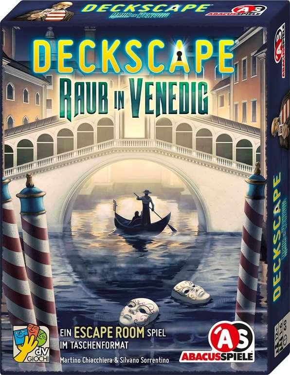 Deckscape (38182)- Raub in Venedig (Kartenspiel) für 6,79€ inkl. Versand (statt 11€) - Thalia Club