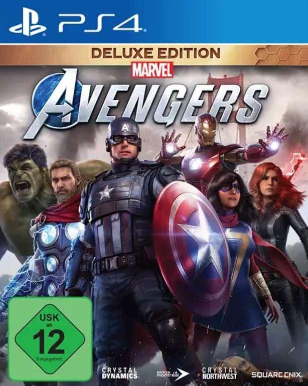 Marvel's Avengers Deluxe Edition (kostenloses Upgrade auf PS5) [PlayStation 4] für 30,98€ (statt 40€)