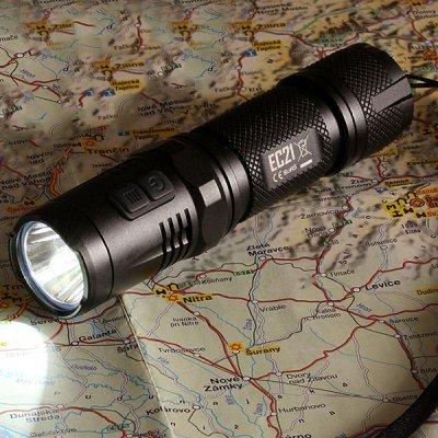 Nitecore EC21 Cree XP - 460 Lumen LED Taschenlampe für 23,09€ (statt 60€)
