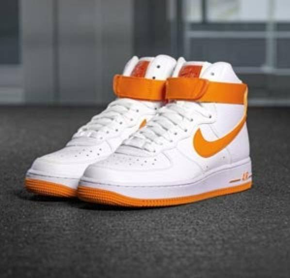 Nike Air Force 1 Sneaker halbhoch, weiß