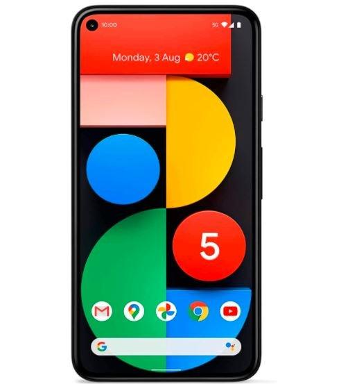 Google Pixel 5 128 GB (169€) + Congstar Allnet Flat (D1-Netz, Telefon- und SMS-Flat, 12GB LTE) für 30€ mtl.