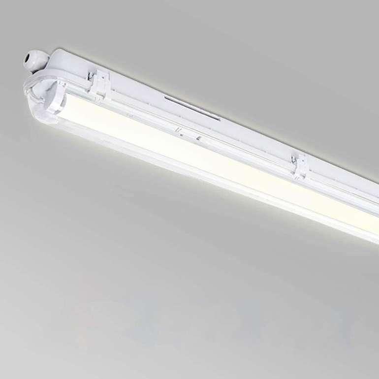 Wolketon LED Feuchtraumleuchte (Röhrenleuchte) z.B: 150cm und 24W für 20,26€ inkl. Prime Versand (statt 29€)