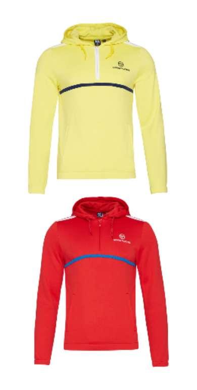 Sergio Tacchini Curry Herren Kapuzen Sweatshirt für 37,94€inkl. Versand (statt 44€)