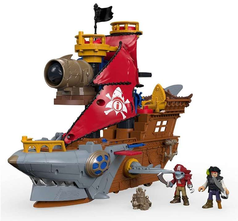 "Fisher-Price Imaginext Pirates Haimaul-Piratenschiff ""DHH61"" für 56,99€ (statt 70€)"