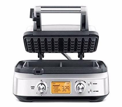 Sage Appliances SWM620 Waffeleisen mit 4 Teigeinstellungen für 114,99€ inkl. Prime Versand (statt 160€)