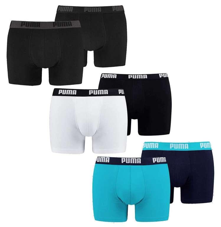 6er Pack Puma Boxershorts Basic für 32,95€ inkl. Versand (statt 40€)