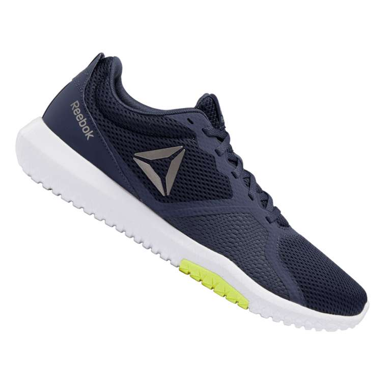 Reebok Schuh Flexagon Force dunkelblau/weiß für 27,95€ inkl. Versand (statt 42€)