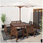 IKEA ÄPPLARÖ Balkon- oder Gartentisch 140 x 140cm für 99€ inkl. VSK (statt 149€)