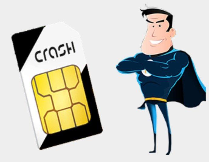 Sim Only Weekend Deal: Crash Vodafone Allnet-Flat mit 4GB LTE für 8,99€ (Ohne Anschlussgebühren)