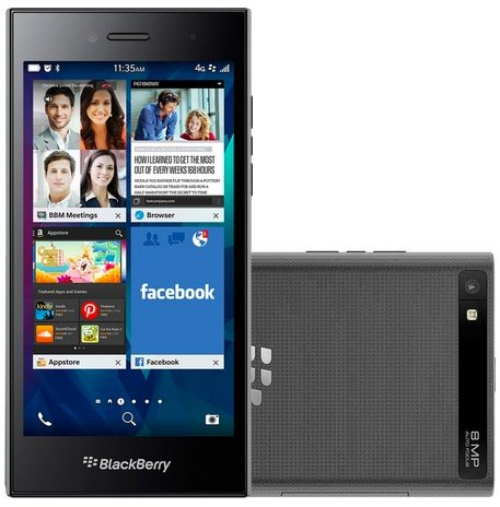 "BlackBerry Leap 5"" LTE Business Smartphone mit 16GB für 49,99€ (B-Ware)"