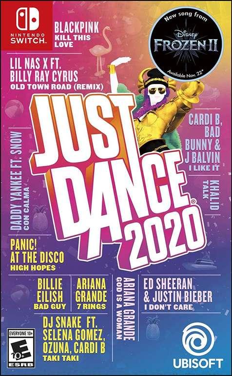 Just Dance 2020 Standard Edition (Nintendo Switch) für 24€ inkl. Versand (statt 35€)