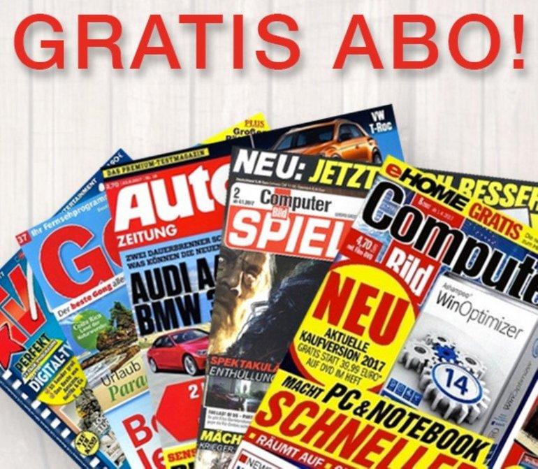 KNALLER! dealbunny.de Newsletter aktivieren & ein Jahresabo eurer Wahl geschenkt