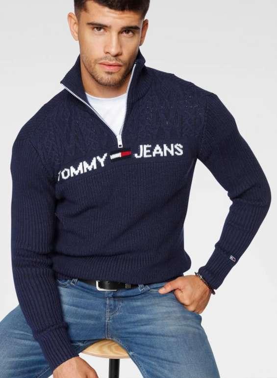 Tommy Jeans Herren Pullover in Blau für 59,90€inkl. Versand (statt 84€)