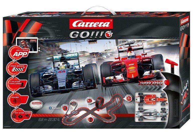 Carrera Go!!!+ Next Race Autorennbahn für 69€ inkl. VSK (statt 88€)