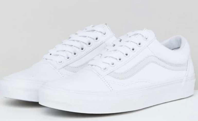 Vans Old School Sneaker in Weiß für 43,82€ inkl. Versand (statt 59€)