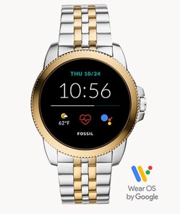 Fossil Gen5E Smartwatch Edelstahl Bicolor (Herren FTW4051 / Damen FTW6074) für 135,15€ (statt 229€) - Newsletter!
