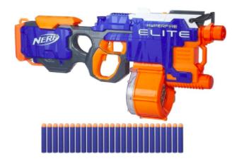 Nerf N-Strike Elite HyperFire für 27€ inkl. Versand (statt 31€)