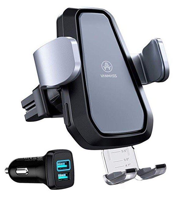 Vanmass Wireless Charger Auto-Handyhalterung + Ladegerät für 35,19€ mit Versand