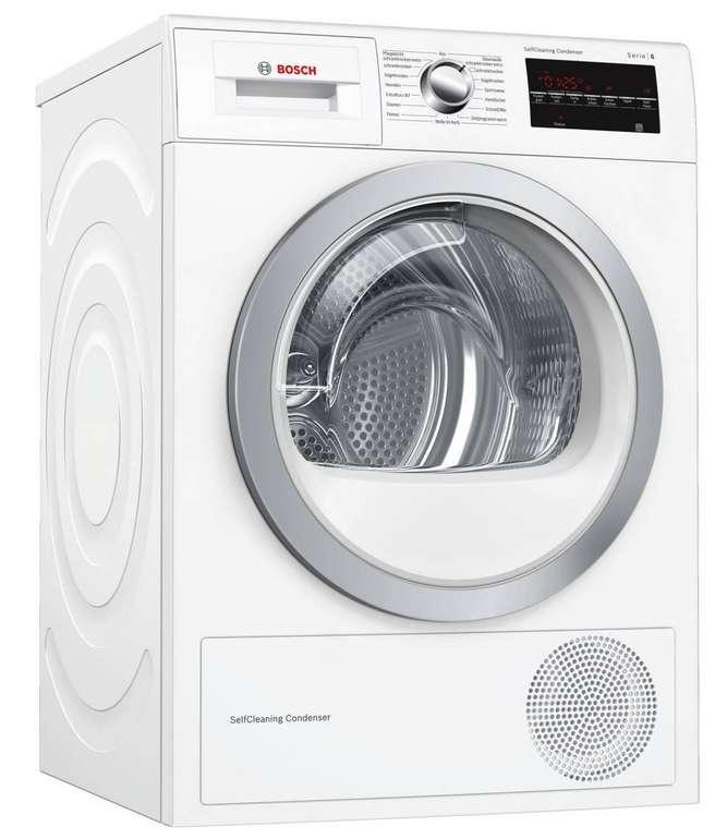 Bosch WTW854T0 7kg-Wärmepumpen-Trockner für 433,90€ inkl. Versand (statt 598€)