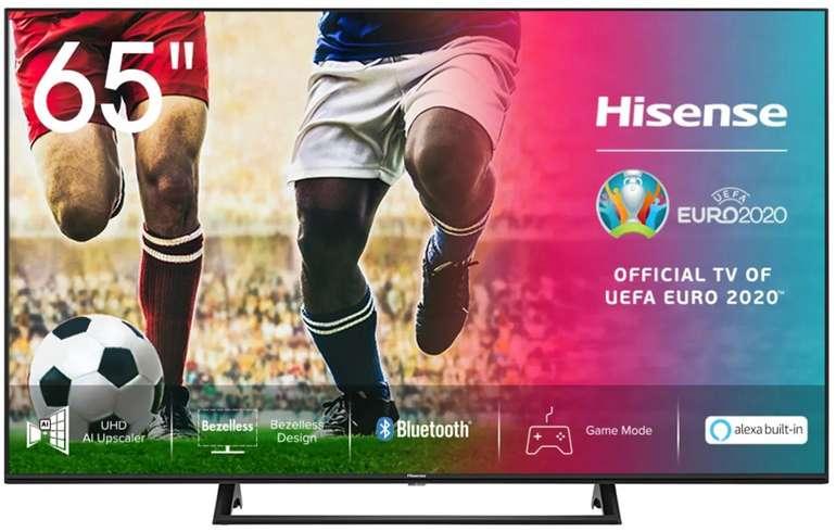 Hisense 65AE7200F – 65 Zoll UHD 4K Smart-TV mit HDR 10 für 489€ inkl. Versand (statt 599€)