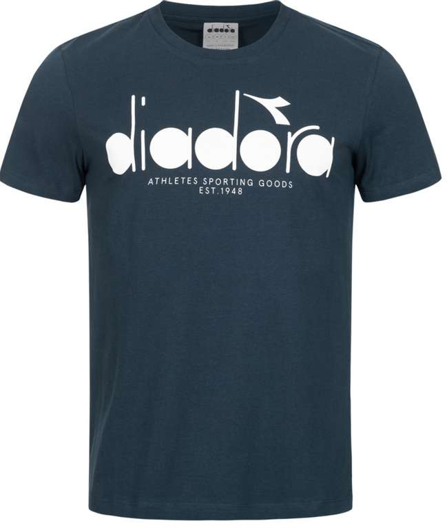 Diadora Logo Herren T-Shirt für 10,61€ inkl. Versand (statt 14€)