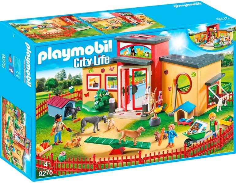 Playmobil City Life 9275 - Tierhotel Pfötchen für 32,99€ inkl. Versand