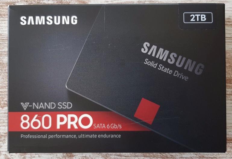 """2,5"""" Samsung SSD 860 Pro mit 2TB Speicher (MZ-76P2T0B/EU) für 349,99€"""