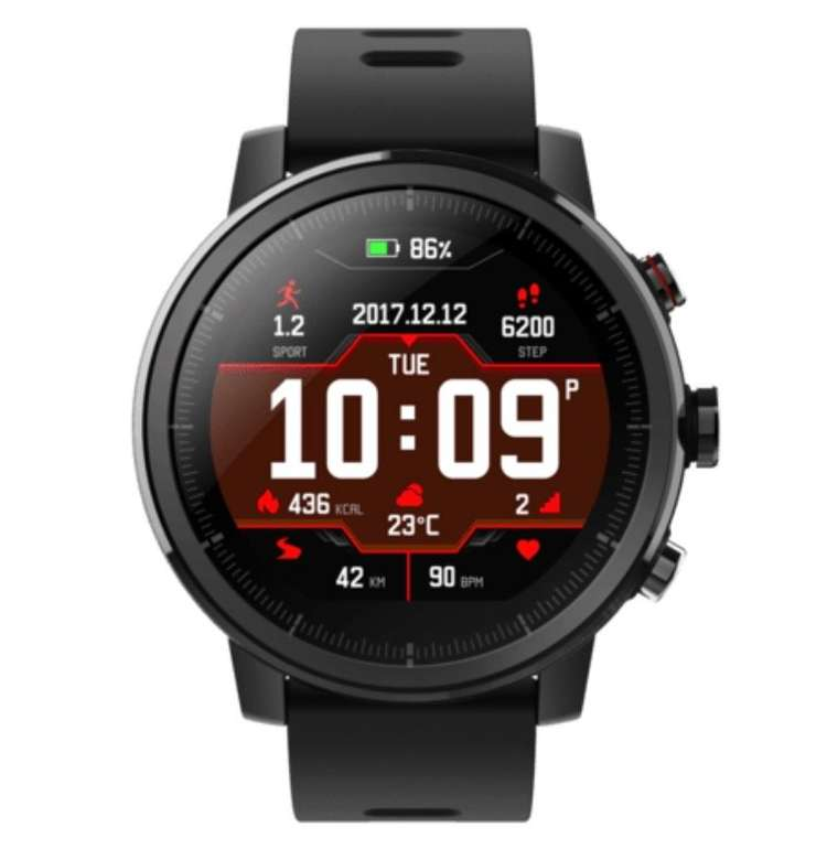 Saturn Wearables Late Night Shopping - z.B. Amazfit Stratos Smartwatch für 99€ (statt 146€)