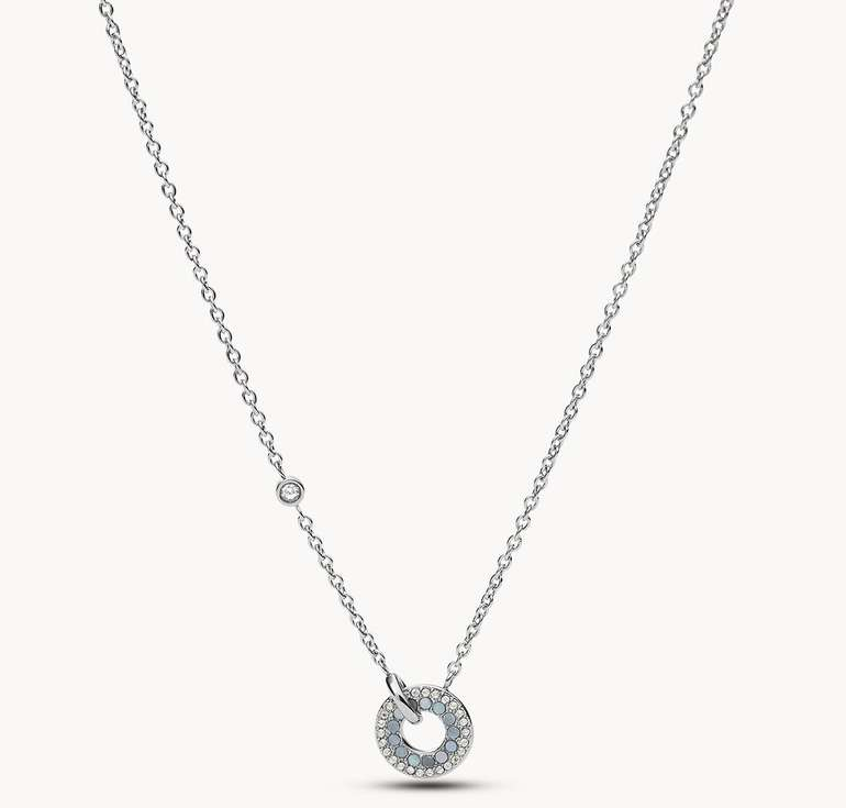 Fossil Edelstahl Halskette mit Anhänger (JF03554040) für 28,90€ inkl. Versand (statt 34€) - Newsletter!