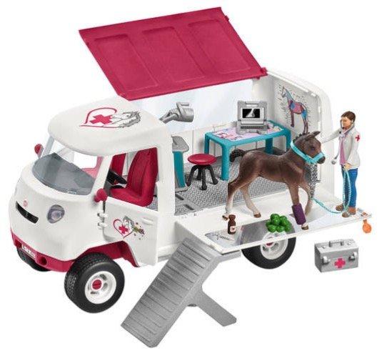 """Schleich Horse Club """"Mobile Tierärztin"""" mit Spielfiguren zu 16,24€ inkl. Versand"""