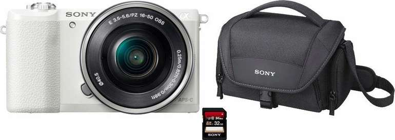 Sony Alpha ILCE-5100L Systemkamera (24,3 MP, NFC, WLAN) inkl. 16-50mm Objektiv für 350,50€ inkl. Versand