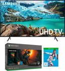 "Samsung 55"" 4K TV UE55RU7179 + Xbox One X 1TB + Tomb Raider + FIFA 19 zu 805,94€"