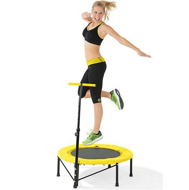 VITALmaxx Fitness-Trampolin in gelb für 54,98€ inkl. Versand (statt 80€)