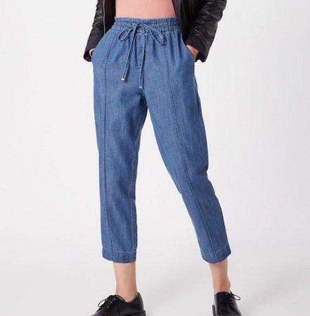 GAP Versatile Jogger Indigo Tencel Damen Hose für 38,17€ inkl. VSK