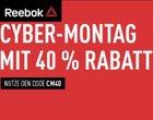 Vorbei! Gutscheinfehler: 50% + 40% Extra-Rabatt bei Rebook