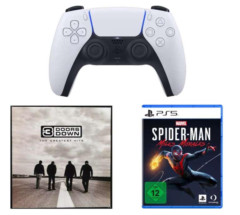 Sony DualSense Wireless-Controller + Spider-Man: Miles Morales für 90€inkl. Versand (statt 103€) - Newsletter!