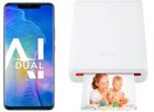 Huawei Mate 20 Pro (Dual-SIM, 128GB) + Huawei CV80 Fotodrucker für 629,99€