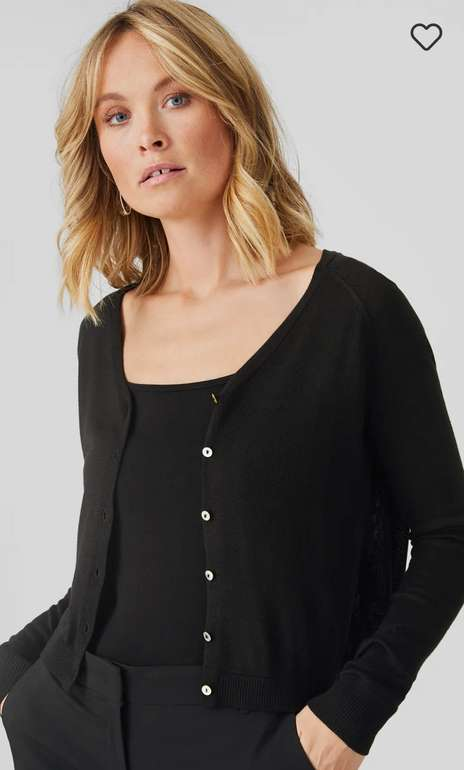 C&A Damen Strickjacke in schwarz für 11,24€ inkl. Versand (statt 20€)