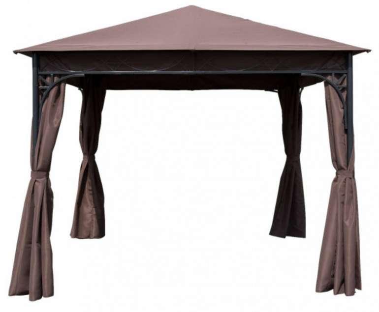Outsunny Luxus Pavillon mit wasserabweisende Spitzdach für 239,99€inkl. Versand (statt 304€)