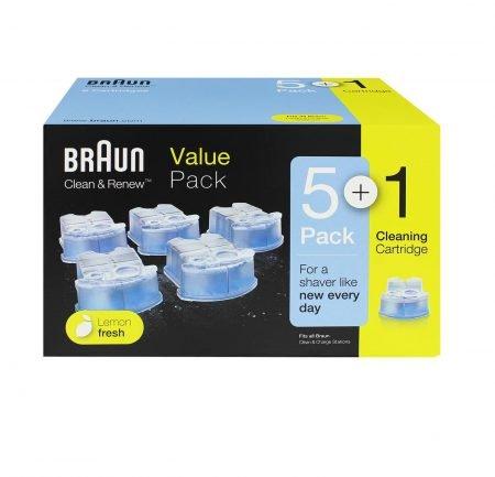 Braun Clean & Renew Reinigungskartuschen (18 Stück) für 58,78€ inkl. VSK