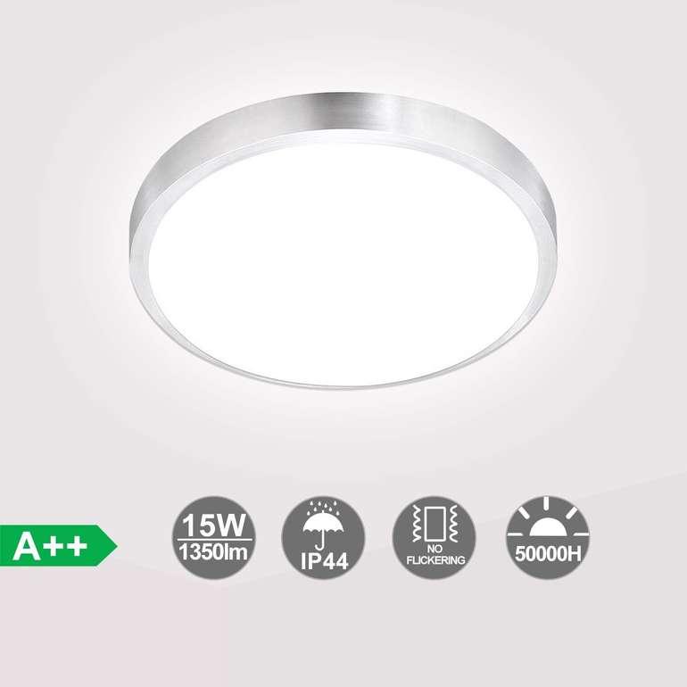 Hengda LED Deckenleuchten in warmweiß o. weiß (IP44, EEK A++) ab 13,29€ inkl. Versand (statt 19€)